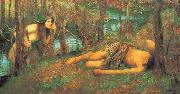 A Naiad or Hylas with a Nymph